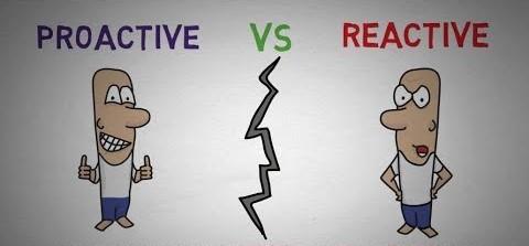 Si reaktívny alebo proaktívny typ?